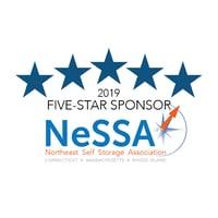 2019 Five-Star Sponsor - NeSSA - Northeast Self Storage Association