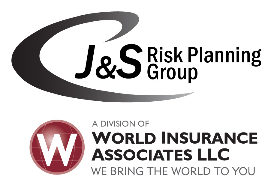 J&S logo, a division of World Insurance